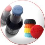 Tampinhas de silicone para garrafas