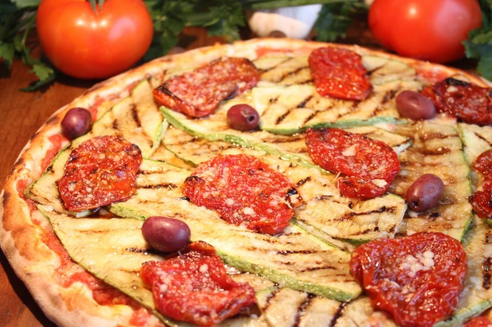 Zucchini- pizza doro