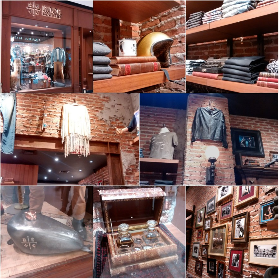 Rock Country - Decoração da loja