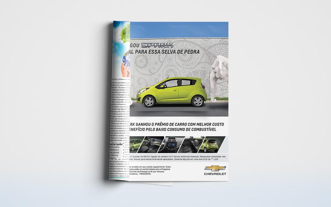 Mockup Magazine Ad Spark