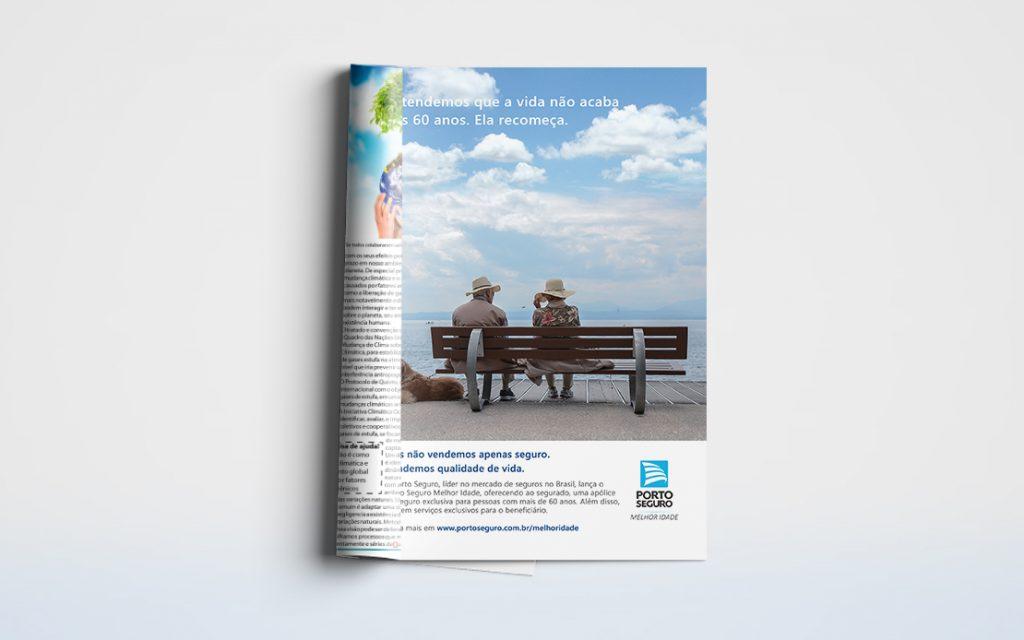 Mockup Porto Seguro Magazine Ad